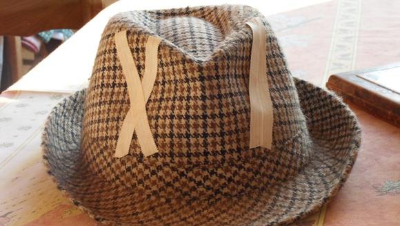 chapeau réparé